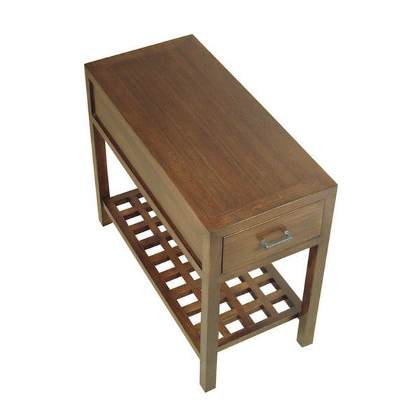 "Metro 14"" Bamboo End Table"
