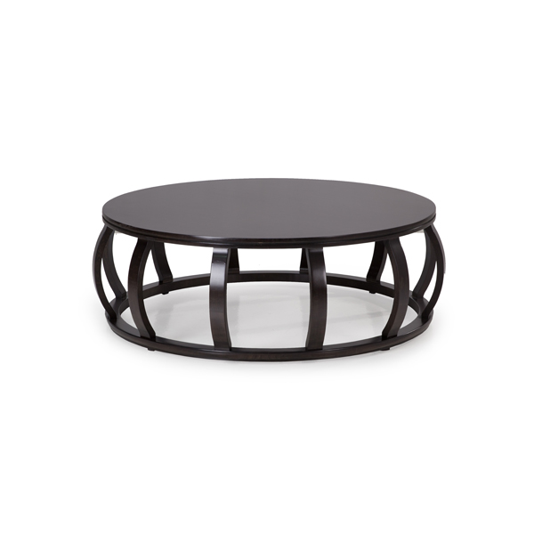 "Metro 48"" Round Low Cocktail Table"