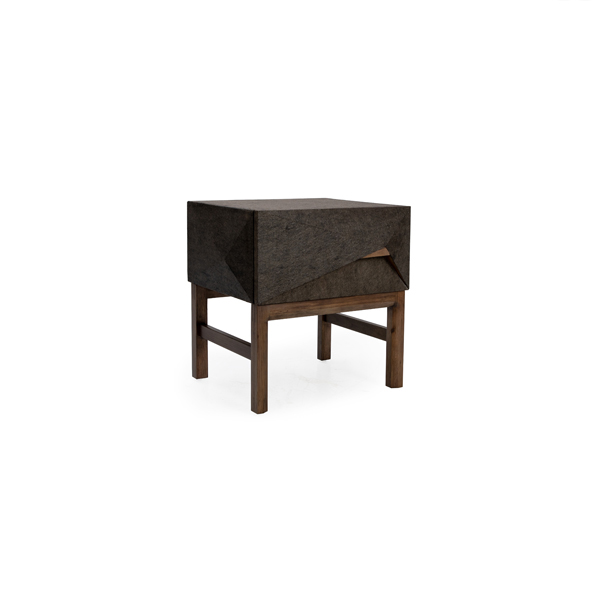"Diamond Diamond 22"" Side Table"