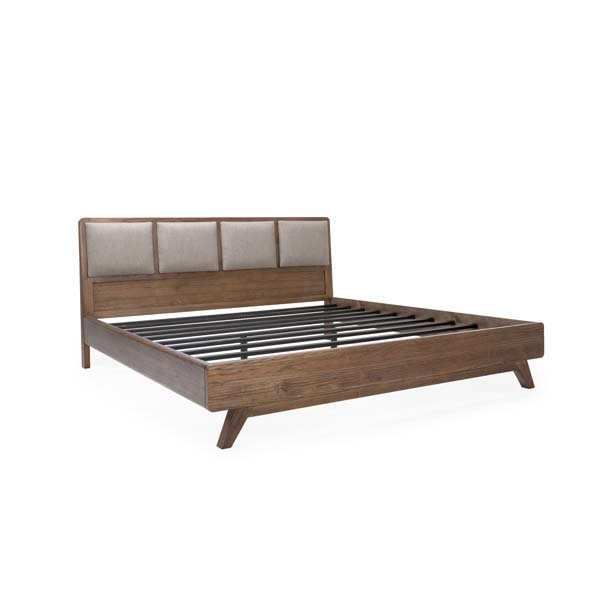 Merced Cal King Low Headboard Bed