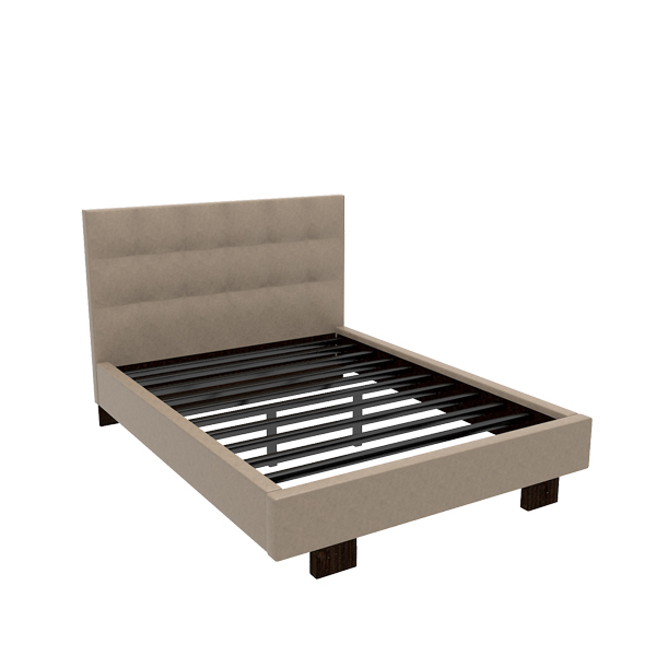 Taylor Queen Leather Bed
