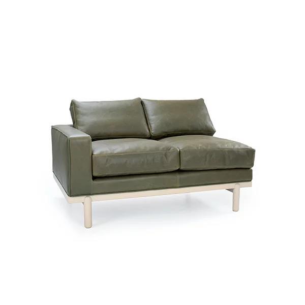 Cantor Left Arm Leather Sofa