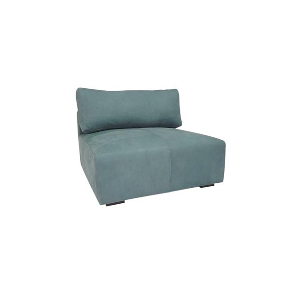 Cayo Leather Armless Sectional