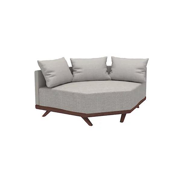 "Merced 49"" Corner Chair"