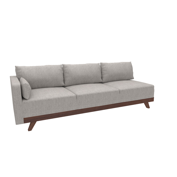 "Merced 93"" Left Arm Sofa"