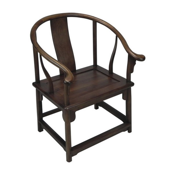 Ming Horseshoe Armchair